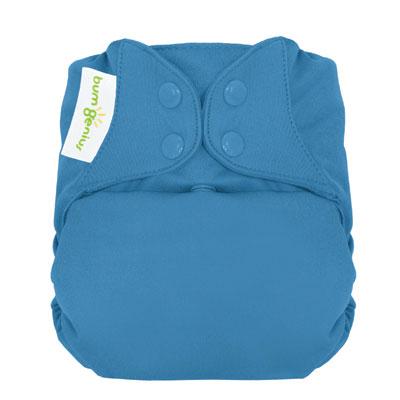 bumGenius 4.0 One-Size Cloth Diaper with snaps - Moonbeam 1