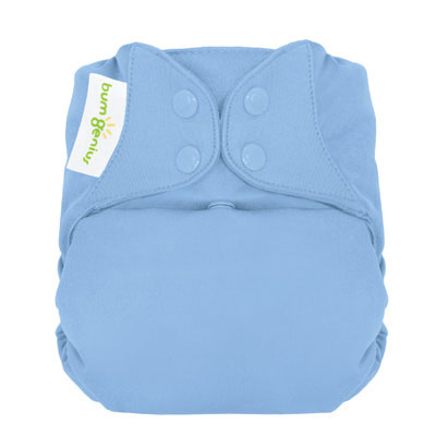 bumGenius 4.0 One-Size Cloth Diaper with snaps - Twilight 1