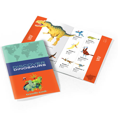 Discover Dinosaurs Puzzle and Play - 100 piece 2
