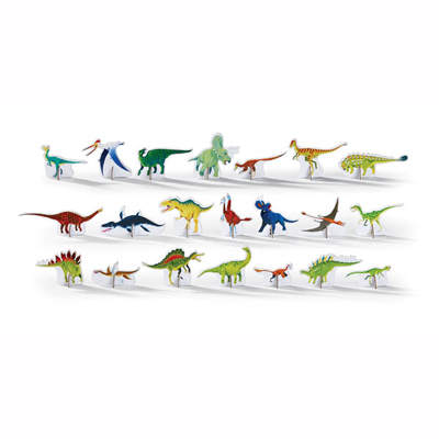 Discover Dinosaurs Puzzle and Play - 100 piece 4