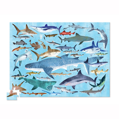 36 Sharks 100 piece puzzle 2