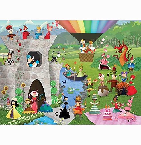 Sleeping Queens 200 piece puzzle 2