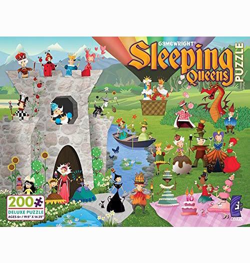 Sleeping Queens 200 piece puzzle 1
