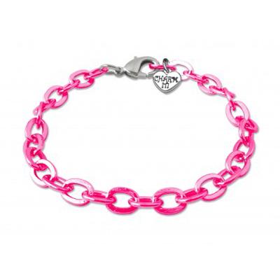 Pink Chain Bracelet 1