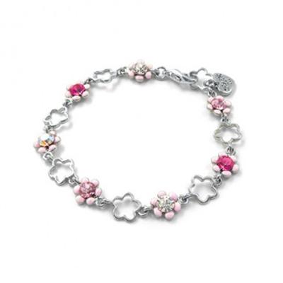 Pink Flower Bracelet 1
