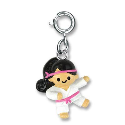 Karate Girl charm 1