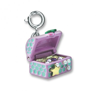 Mermaid Treasure chest charm 1
