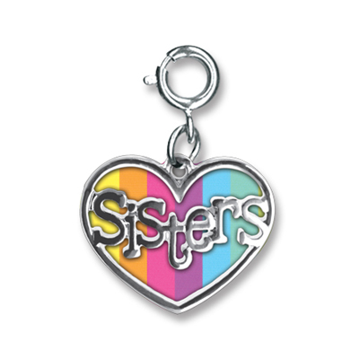 Sisters Heart Charm - Only one left! 1