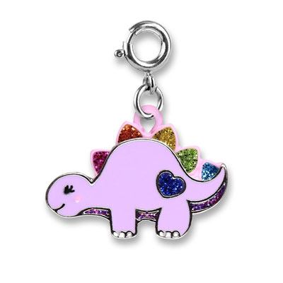 Glitter Dinosaur Charm 1