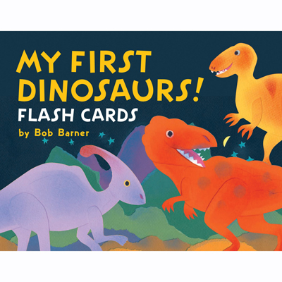 My first Dinosaurs flash cards 1