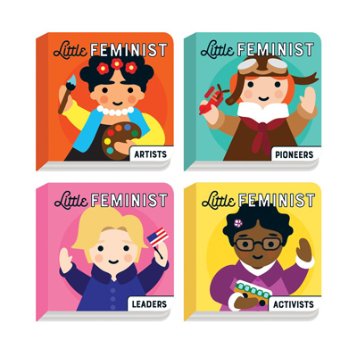 Little Feminist Board Book Set 4