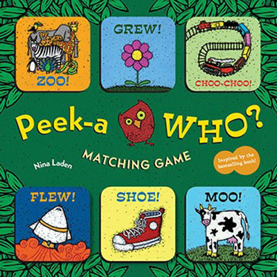 Peek-a Who? Matching Game 1