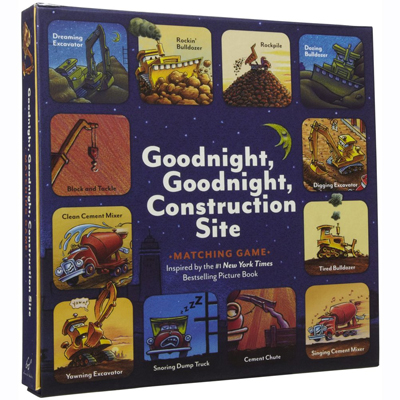 Goodnight, Goodnight, Construction site matching game 1