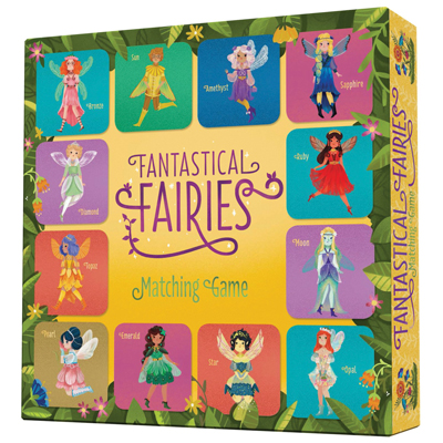 Fantastical Fairies Matching Game 1