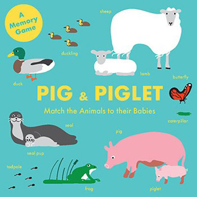 Pig and Piglet: Match the Animals to Their Babies 1