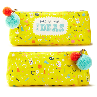 Full of Bright Ideas zipper pouch 1