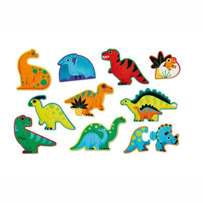 10 Dinosaur beginner puzzles 2