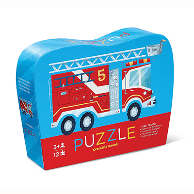 Fire Truck 12 piece puzzle 1