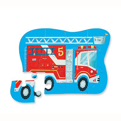 Fire Truck 12 piece puzzle 2