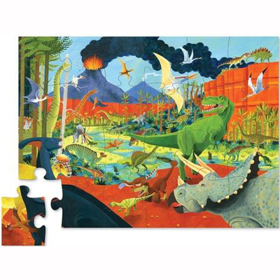 Land of Dinosaurs 24 piece puzzle 2