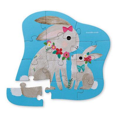 Bunny Love 12 piece Puzzle 2