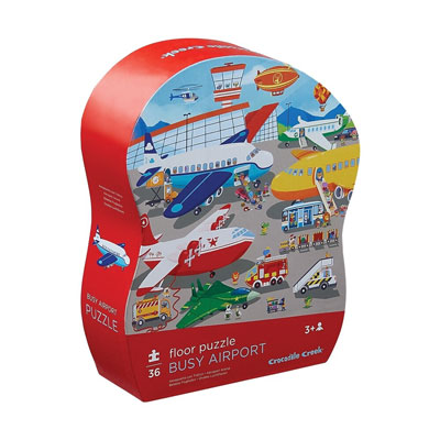 Busy Airport 36 piece floor puzzle 1