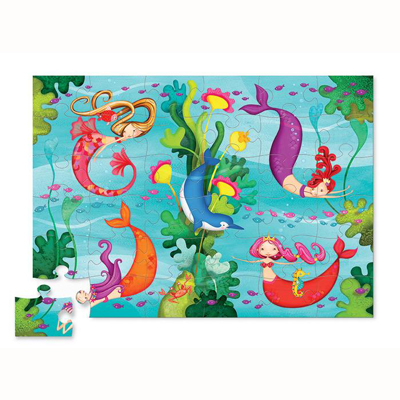 Mermaid Floor Puzzle 2