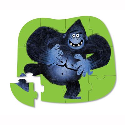 Go Gorilla 12 piece mini puzzle 2