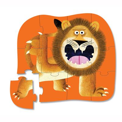 Lion Roar 12 piece mini puzzle 2