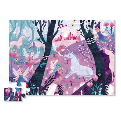 Unicorn Forest Floor Puzzle - 36 piece 2