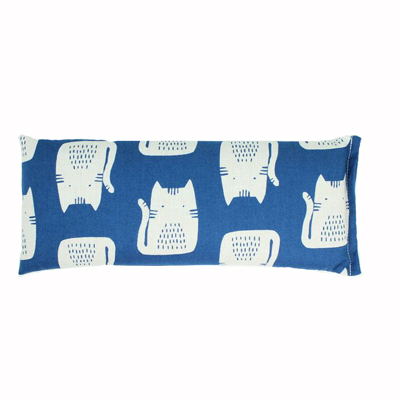 Blue Cat eye pillow - Lavender 1