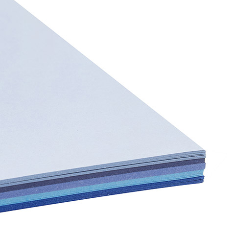 Brilliant Blues smooth card stock- 8.5 x 11 - 50 sheets 3