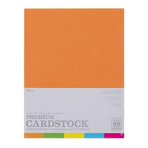 Candy Shop 50 sheet pack - Card Stock 8.5 x 11 2