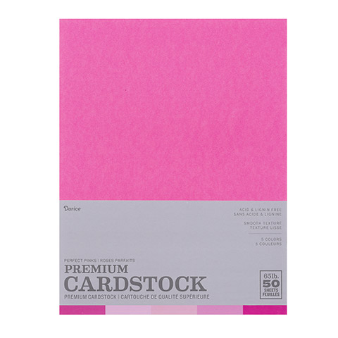 Core'dinations® Smooth - Perfect Pinks - 8.5 x 11 - 50 sheets 2