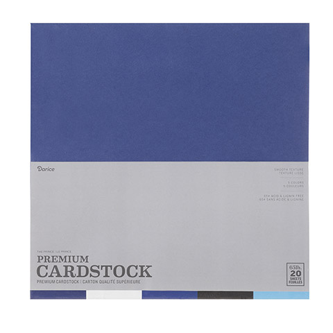 The Prince 20 sheet pack - Card Stock 12 in  x 12 in 1