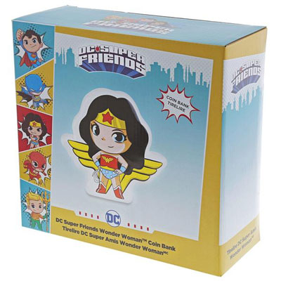 DC Super Friends Wonder Woman Bank 3
