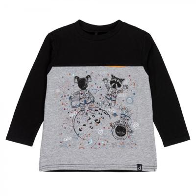 Friends On The Moon Boys Print Long Sleeve T-Shirt 1