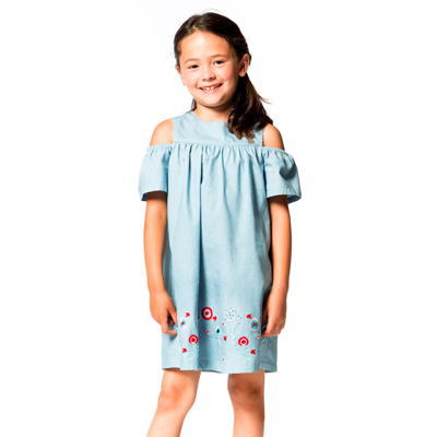 High Style At Low Tide Classic Chambray Dress 2
