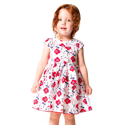 Red Orchid dress 1