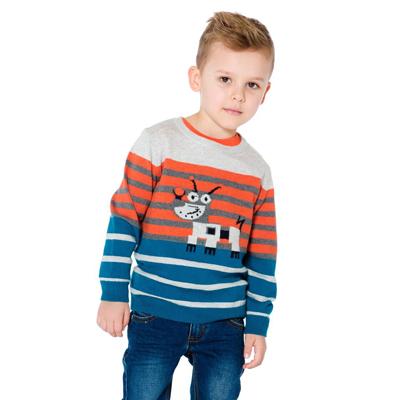 Meccano Knit Striped Sweater 2