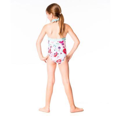 Floral halter swimsuit 3
