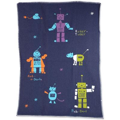 Niki toddler robot blanket by David Fussenegger 2