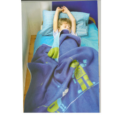 Niki toddler robot blanket by David Fussenegger 1