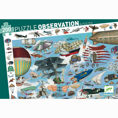 Aero Club Observation Puzzle and Poster 1