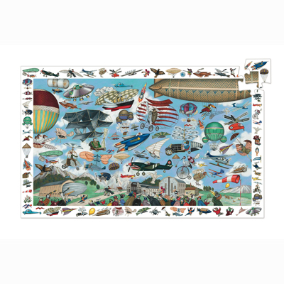Aero Club Observation Puzzle and Poster 2