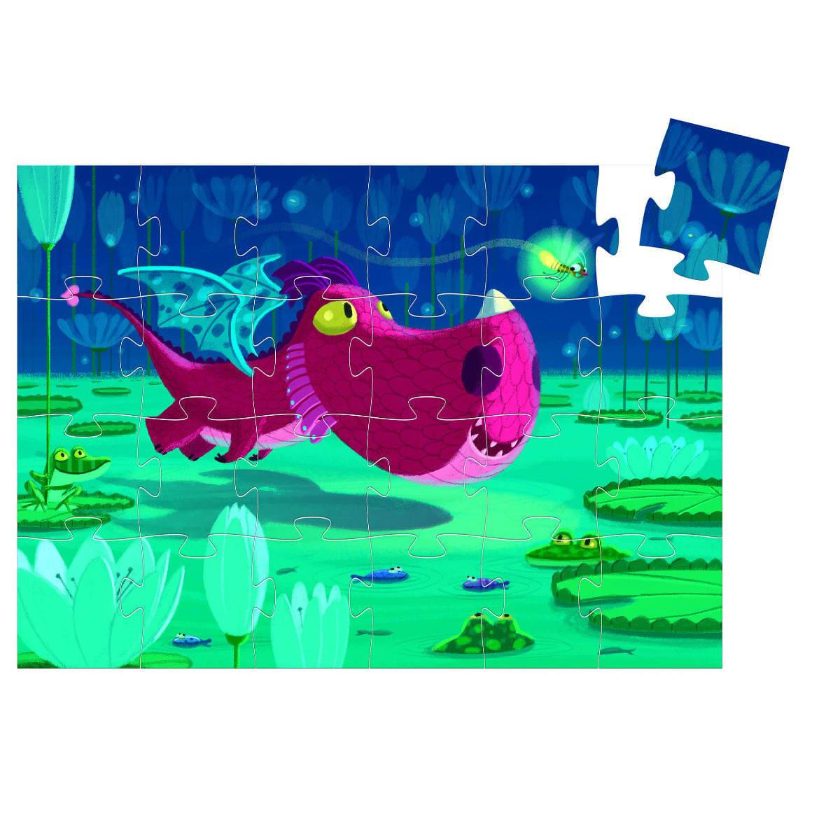 Edmond The Dragon 24 piece puzzle 2