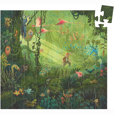 In the Jungle 54 piece puzzle 2