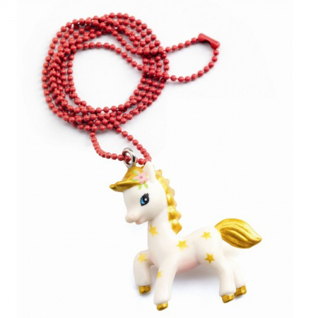 Pony charm necklace 1