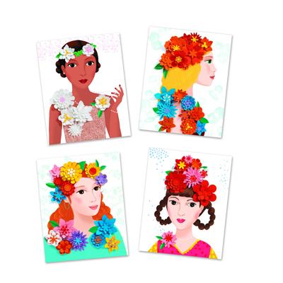 Paper flowers kit 2
