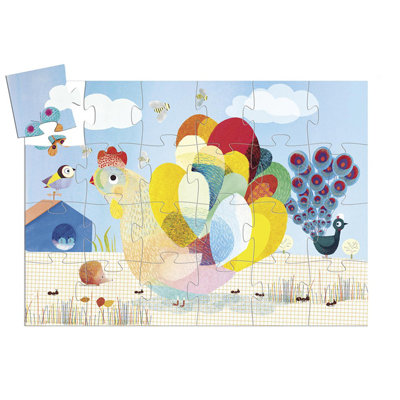 Raoul the Hen Puzzle (24 pieces) 2